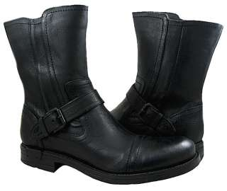New Kenneth Cole Mens Rev The Engine Black Boots US Sizes