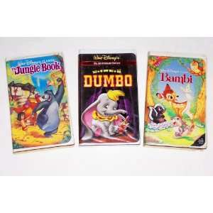 Disney Animated Classic Collection #09 (3pk): The Jungle Book; Dumbo