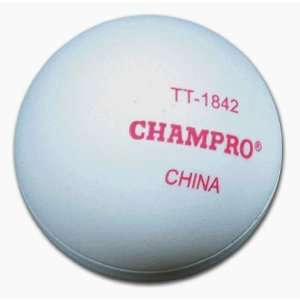 Champro Two Piece Table Tennis Ball 6PK