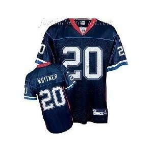 2011 New NFL Buffalo Bills #20 Whitner White/Dark blue Jerseys Size 48
