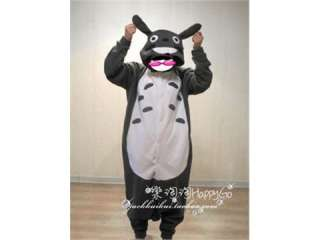 Japan Anime Kigurumi Totoro Cosplay Costume Pajamas Size S M L XL