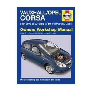 Vauxhall/Opel Corsa Petrol and Diesel Service and Repair