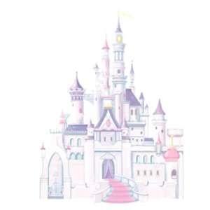 Wallpaper York Disney DISNEY CAStLE GIANt WALL DECAL