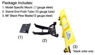 Yamaha Rhino 66 Blade Eagle UTV Snow Plow Kit HP