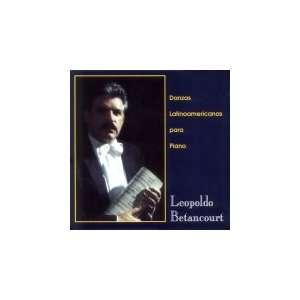Danzas Latinoamericanas Para Piano   Leopoldo Betancourt