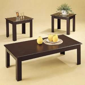 Parquet 3 Pc Coffee/End Table Sets by Coaster: Home