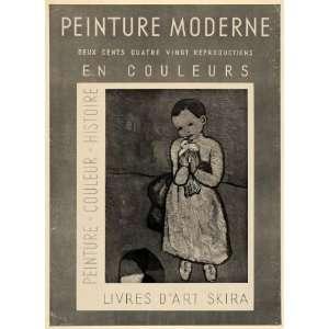 Peinture Moderne Livres dArt Skira   Original Print