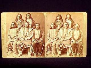 CHIEF OURAY & CHIEFS OF THE UTE INDIANS IN COLORADO