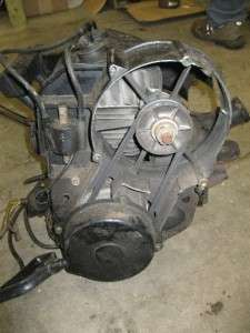 87 Yamaha Phazer 480 Motor Engine Twin Snowmobile Used