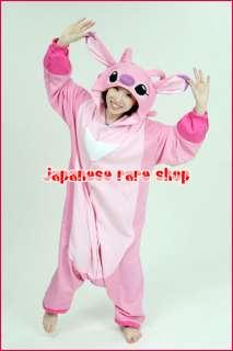 Disney Lilo & Stitch Angel Pile Costume Pajama Kigurumi Japan SAZAC