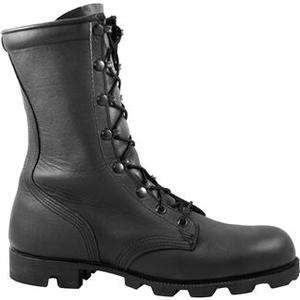 US Army Issued Black Leather Combat Boots