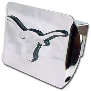 University of Texas Longhorns Bright Polished Chrome with