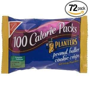 Nabisco Planters Peanut Butter Crisps100 Calorie Pack, 0.88 Ounce