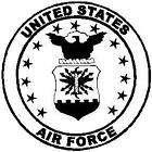CIVIL AIR PATROL AIR FORCE VINYL DECAL STICKER 99 3