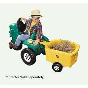 Pedal Farm Tractor Trailer Toys & Games