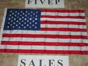NEW 3X5 NYLON AMERICAN FLAG EMBROIDERED USA FLAGS US