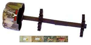 Bohning Lynx 4 Arrow Quiver, RealTree APG Camo