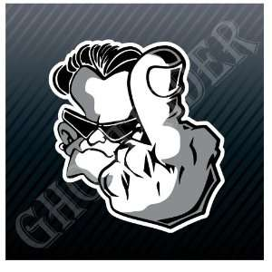 Middle Finger Bad Boy Car Trucks Sticker Decal