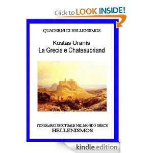 La Grecia e Chateaubriand (QUADERNI DI HELLENISMOS) (Italian Edition