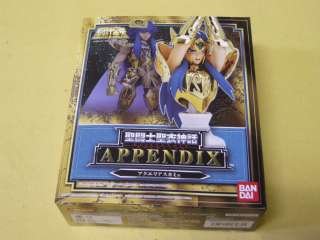 Saint Seiya Cloth Myth Appendix Aquarius Camus JAPAN Ver.