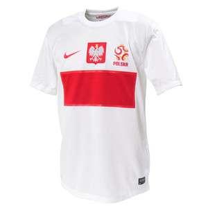 BNWT Nike POLAND POLSKA UEFA EURO 2012 Home Soccer Jersey Football