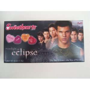 Sweethearts Candies Twilight Saga Eclipse Jacob box 3 of 3: