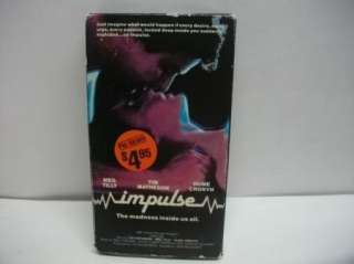 IMPULSE MEG TILLY TIM MATHESON VHS MOVIE Horror
