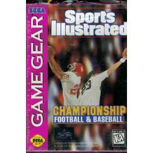 Sports Illustrated Football and Baseball Video Games