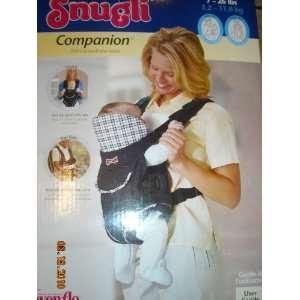 Snugli Companion Soft Baby Carrier Baby