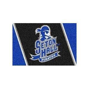 Seton Hall Pirates Pirates 5 x 8 Team Door Mat: Sports & Outdoors