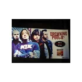 Signed Drowning Pool Desensitized 12x24 LP Flat   Can be