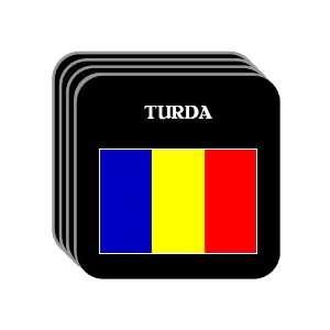 Romania   TURDA Set of 4 Mini Mousepad Coasters