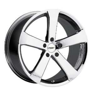 TSW Vortex (Chrome) Wheels/Rims 5x100 (1980VOR355100C72) Automotive
