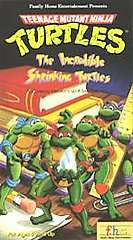 Teenage Mutant Ninja Turtles   The Incredible Shrinking Turtles VHS