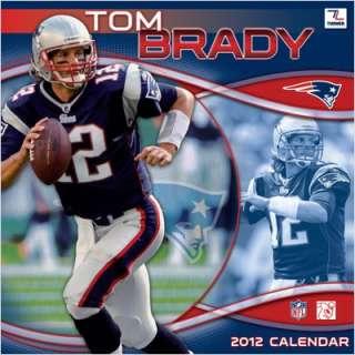 Turner Sports NFL New England Patriots Tom Brady 2012 Wall Calendar
