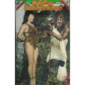 Betty Page In Jungle Land CCP Conquest 1992 Comics Bunny