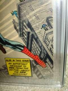 Amazing Fantasy #15 CGC 6.5 Origin 1st Spider man cm