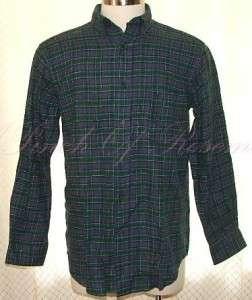 John Ashford Tartan Plaid Flannel LS Shirt $38 NWT 689439619566