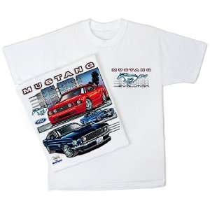 Ford Mustang Evolution T Shirt X Large Automotive