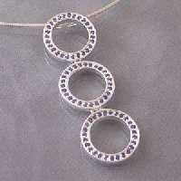 Adorable 2 Tone Heart Sterling Silver Earrings