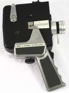 Bell & Howell Zoom Reflex Autoload 8mm Movie Camera