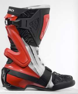 Forma ICE red mens road racing motorcycle boots