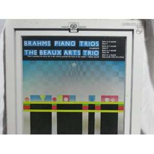 Brahms Piano Trios Complete the Baux Arts Trio [Vinyl