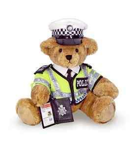 BRITISH TRAFFIC BOBBY POLICE TEDDY BEAR ROYAL WEDDING Sold Out In
