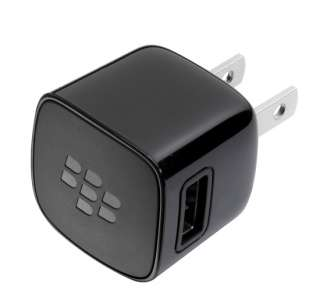 OEM BlackBerry Micro USB Wall+Cable Charger For Bold 9900 9930 Torch