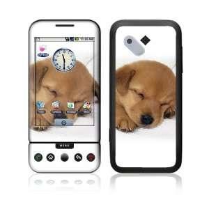 HTC Google G1 Decal Vinyl Skin   Animal Sleeping Puppy