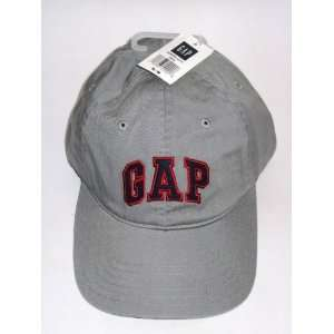 Gap Logo Gray Baseball Cap Hat Size S/M Womens Mens