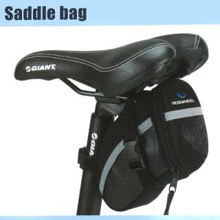 Portable Cycling Bicycle Bike Saddle Outdoor Pouch Back Seat Bag