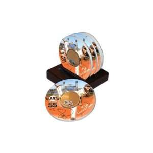 Tim Lincecum San Francisco Giants 4 pack Coaster Set with