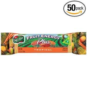 Tree Top Energy Plus Bar, Tropical, 1.31 Ounce Bars (Pack of 50)